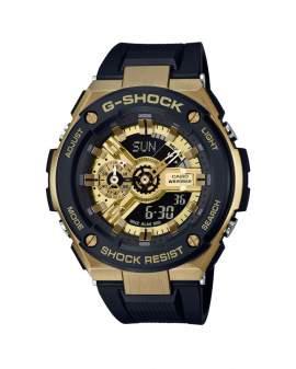 G-Shock G-Steel Dorado y Negro de Hombre GST-400G-1A9