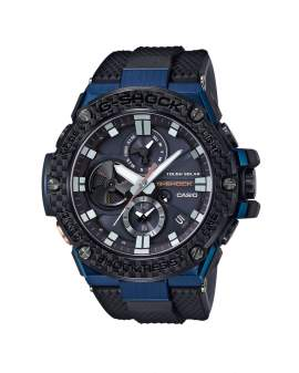 G-Shock G-Steel Carbon Bluetooth Tough Solar Negro Azul...