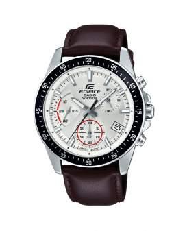 Edifice Cronografo Estandar Cuero de Hombre EFV-540L-7A