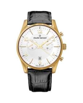Claude Bernard Classic Chronograph de Hombre 1010337JAID