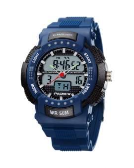 Pasnew Analogo-Digital Azul de Hombre PSE-361-N4