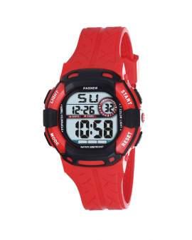 Pasnew Digital Rojo y Negro de Hombre PSE-485-N5