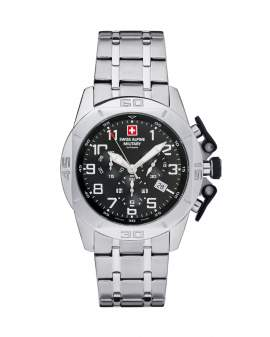 Swiss Alpine Military Tornado Chrono Metal de Hombre...
