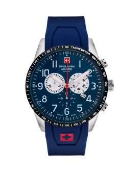 Swiss Alpine Military Hornet Chrono Metal de Hombre...