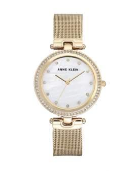 Anne Klein Crystals Madre Perla en Dorado de Mujer 2972-MPGB