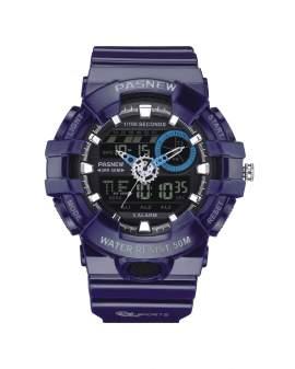 Pasnew Analogo-Digital Azul de Hombre PSE-496-N4