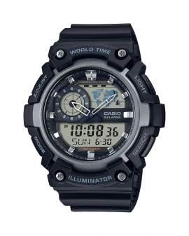 Casio Illuminator World Time Negro de Hombre AEQ-200W-1A