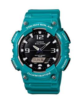 Casio Tough Solar Illuminator Celeste de Hombre AQ-S810WC-3A