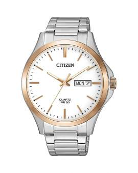 Citizen Classic Plateado y Oro Rosa de Hombre BF2006-86A
