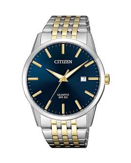 Citizen Classic Dos Tonos Dial Azul de Hombre BI5006-81L