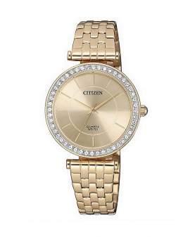 Citizen Crystals Oro Rosa Dial Oro Rosa de Mujer ER0213-57X