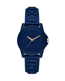 Armani Exchange Lady Banks Silicon Azul de Mujer AX4368