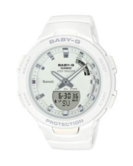 Baby-G Athleisure Bluetooth Blanco de Mujer BSA-B100-7A