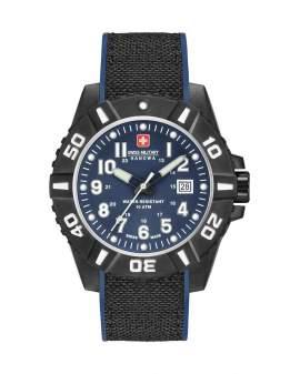 Swiss Military Black Carbon Fiber de Hombre 06430917003