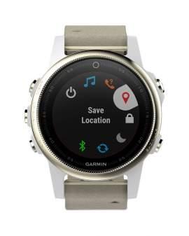 Garmin Fenix 5s GPS Sapphire Gris Unisex 010-01685-12
