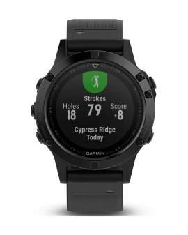 Garmin Fenix 5 Sapphire GPS Negro Unisex 010-01688-10
