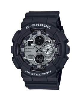 G-Shock Classic Negro y Plateado de Hombre GA-140GM-1A1