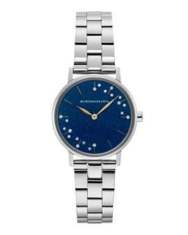 BCBGMAXAZRIA Plateado Dial Azul Estrellas de Mujer BG50822003