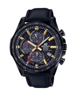 Edifice Solar Cronografo Negro de Hombre EQS-900CL-1A