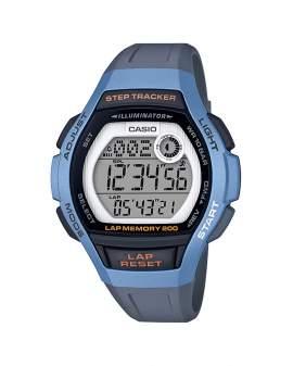 Casio Illuminator Step Tracker Gris y Celeste Unisex...