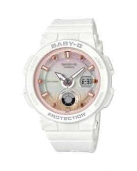 Baby-G Beach Neon Blanco de Mujer BGA-250-7A2