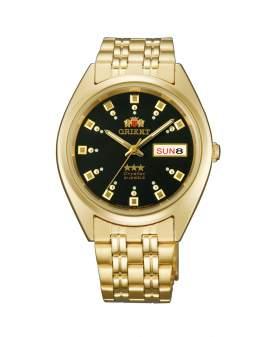 Orient 3 Star Crystal Automatico Dorado de Hombre FAB00001B