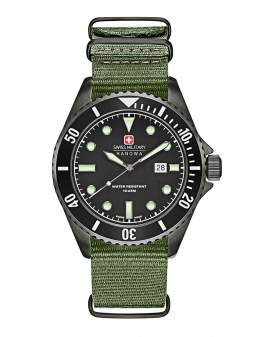 Swiss Military Sea Lion Verde de Hombre 06427913007