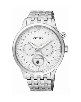 Citizen Eco Drive Fase Lunar Plateado de Hombre AP1050-56A