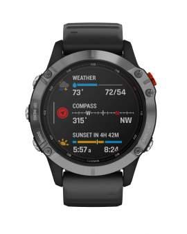 Garmin Fenix 6 Pro Sapphire GPS Multisport Negro de...