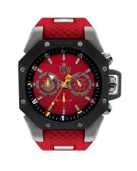 Technosport Sport Plateado y Rojo de Hombre TS-100-SAIL4RED