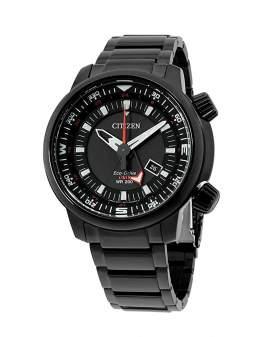 Citizen Eco Drive GMT Negro de Hombre BJ7085-50E