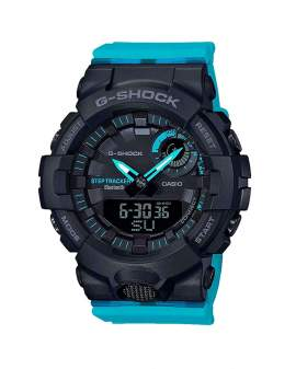 G-Shock Step Tracker Bluetooth Celeste y Negro de Hombre...
