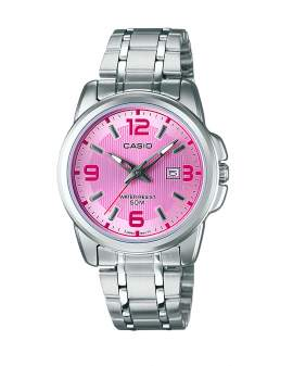 Casio Analogo Fashion Metal y Rosado de Mujer LTP-1314D-5A