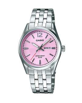 Casio Analogo Fashion Metal y Rosado de Mujer LTP-1335D-5A