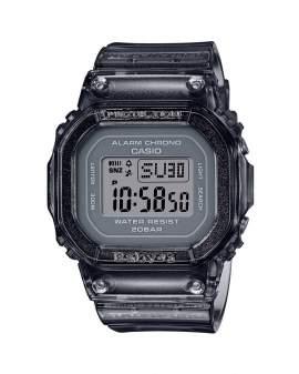 Baby-G Digital Semi-Transparente Negro de Mujer BGD-560S-8D