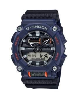G-Shock Classic Heavy Duty Morado y Naranja de Hombre...