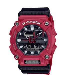 G-Shock Classic Heavy Duty Rojo y Negro de Hombre GA-900-4A