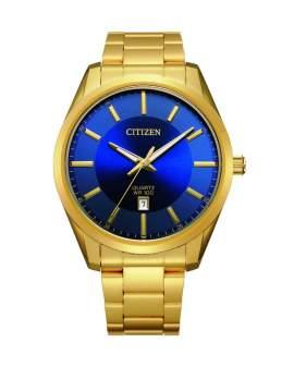 Citizen Analogo Dorado y Dial Azul de Hombre BI1032-58L