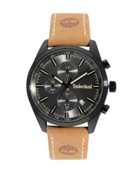 Timberland Cronografo Gunmetal y Cuero Caki de Hombre...