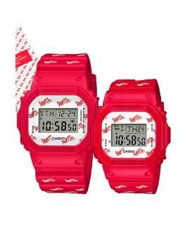 G-Shock y Baby-G Limited Lovers Rojo (Pareja) Hombre y Mujer LOV-20B-4D