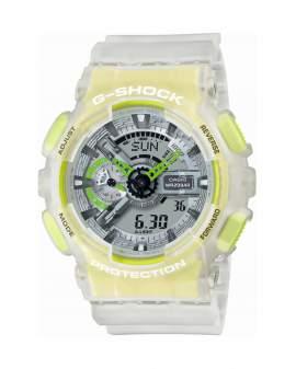 G-Shock Trending Translucent Blanco y Verde Neon Hombre...