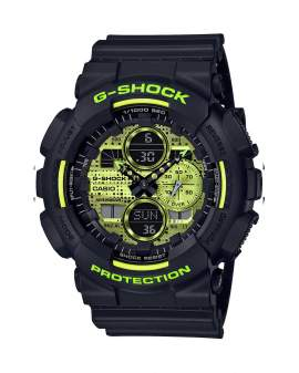 G-Shock Special Color Negro y Neon de Hombre GA-140DC-1A