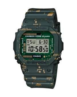 G-Shock Carbon Core The Origin Verde Circuito Kit 3 Pulsos de Hombre DWE-5600CC3D