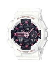 G-Shock Classic Blanco Serie-140 de Mujer GMA-S140M-7A