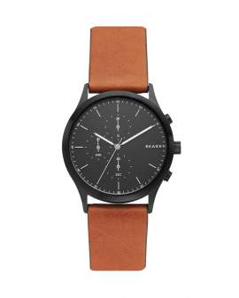 Skagen Jorn Brown Leather de Hombre SKW6477