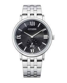 Citizen Small Second Plateado Dial Negro de Hombre BE9170-72E