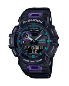 G-Shock G-Squad Move Step Tracker Bluetooth Negro y Morado de Hombre GBA-900-1A6