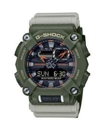 G-Shock Heavy Duty Hidden Coast Verde y Gris de Hombre GA-900HC-3A