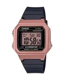 Casio Illuminator Digital Oro Rosa de Mujer W-217HM-5A