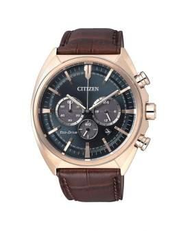 Citizen Eco-Drive Cronografo Cuero de Hombre CA4283-04L